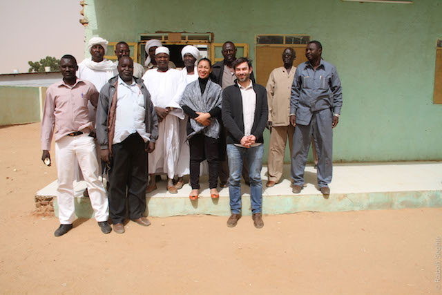 Tribes in Darfur with Herve Pugi (Journalist) and Priscilla Wolmer (French publisher - Media 54 ETATS)